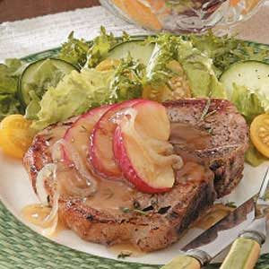 Apple-Glazed Pork Chops