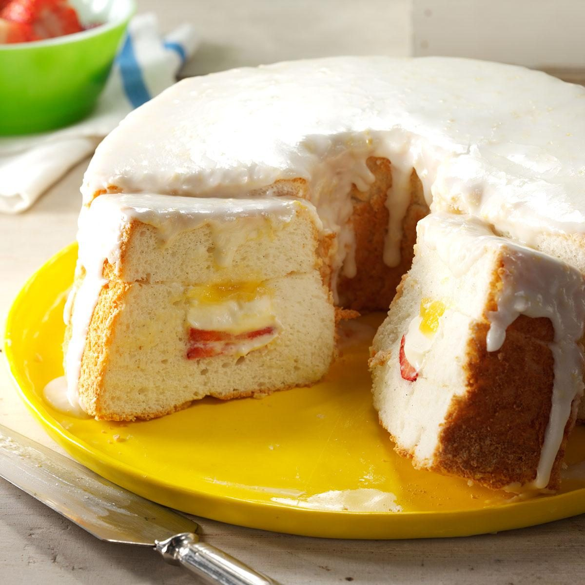 The Great British Baking Show Angel Food Cake Recipe