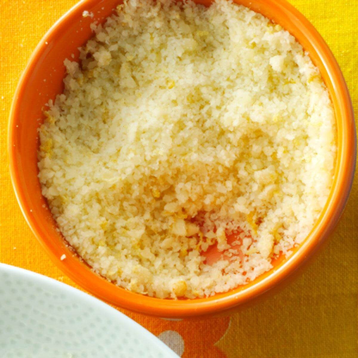 Lemon-Parmesan Pasta Topper
