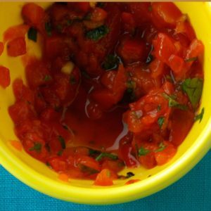 Roasted Red Pepper Pasta Topper