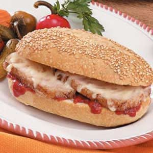Italian Pork Hoagies