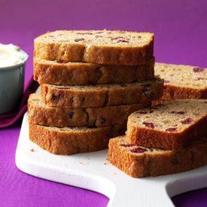 Spicy Applesauce Fruit Bread