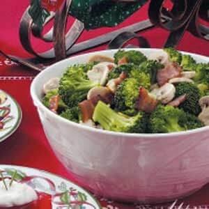 Mushroom Broccoli Medley