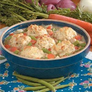 Turkey Biscuit Potpie