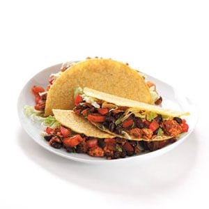 Tex-Mex Turkey Tacos