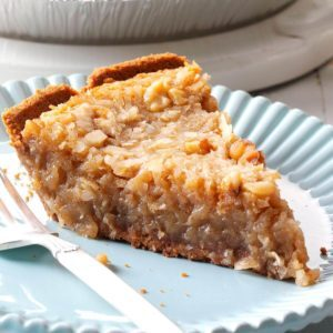 Coconut Eggnog Pie