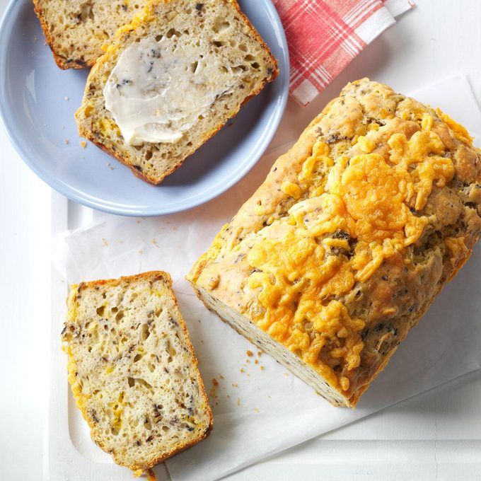Olive & Onion Quick Bread