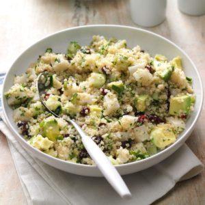 Lemon Cranberry Quinoa Salad