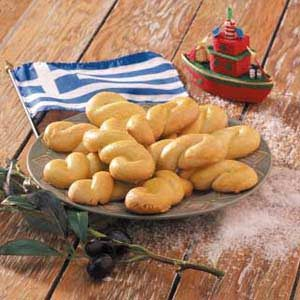 Greek Holiday Cookies