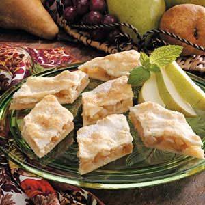Sugared Raisin Pear Diamonds