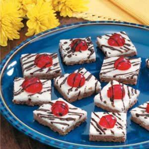 Cherry Cocoa Shortbread Squares