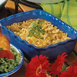 Mushroom Oven Rice