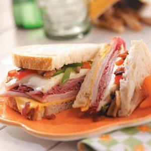 Grilled Deli Sandwiches