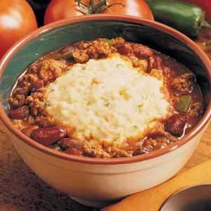 Chili with Potato Dumplings