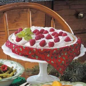 Raspberry Yogurt Pie