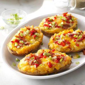 Fiesta Egg & Potato Boats