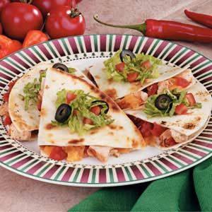 Baked Chicken Quesadillas