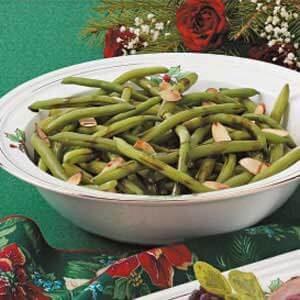 Tarragon-Almond Green Beans