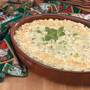 Makeover Creamy Broccoli Casserole