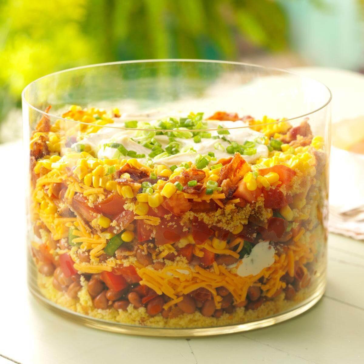 Southern Cornbread Salad Recipe