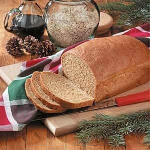 Norwegian Oatmeal Molasses Bread