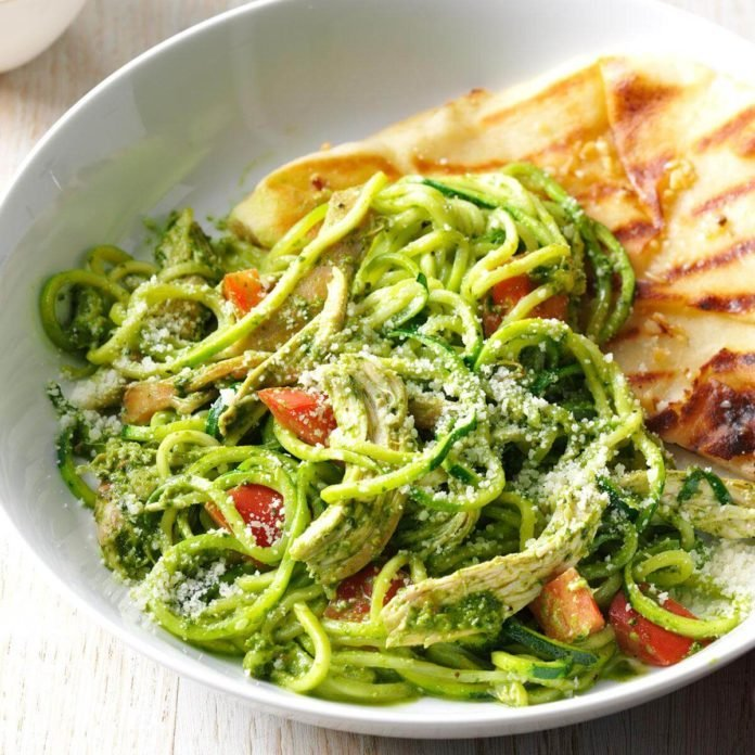 Arugula Pesto Chicken