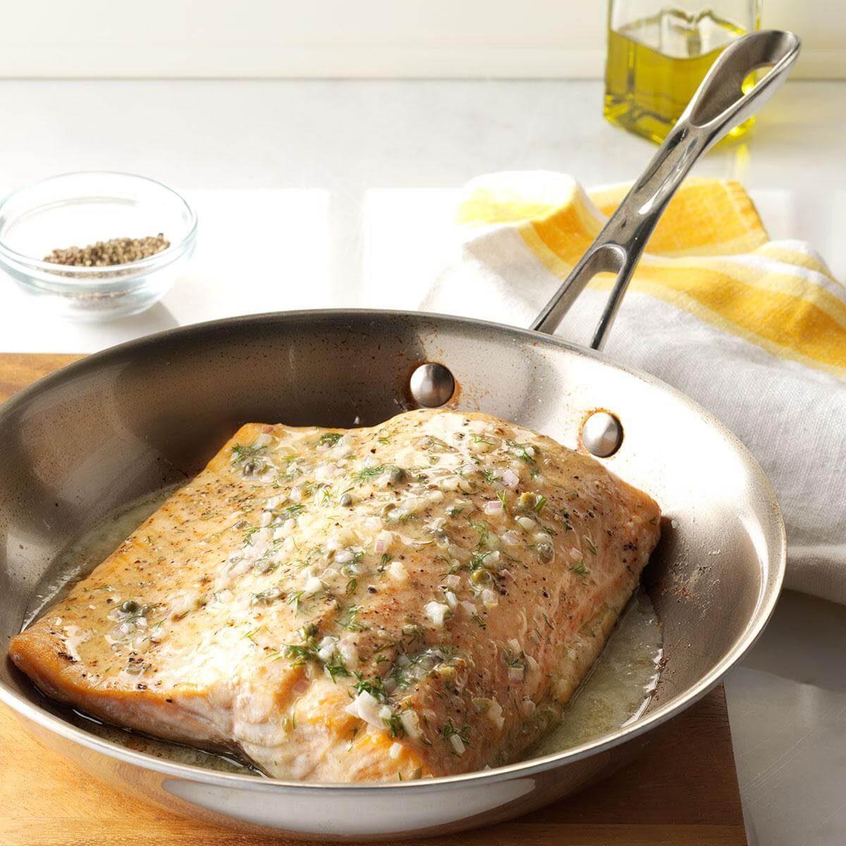 Oven Roasted Salmon Recipe Taste Of Home