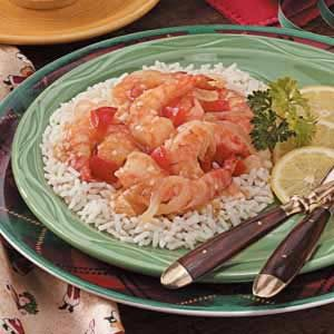 Texas Lemon Shrimp