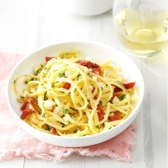 Sun-Dried Tomato Linguine