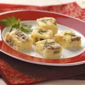 Cheesy Mushroom Morsels