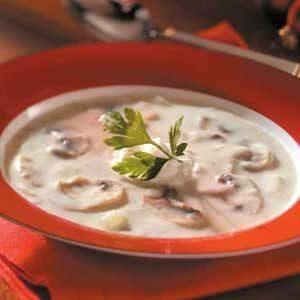 Elegant Mushroom Soup