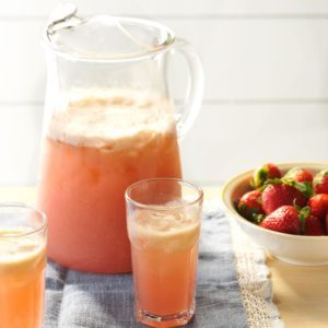 Strawberry-Basil Refresher