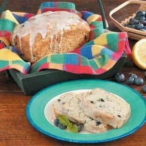 Poppy Seed Blueberry Bread