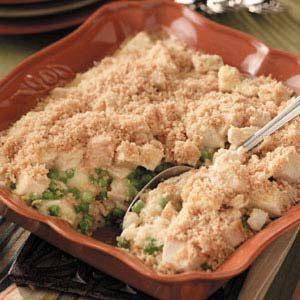 Cheddar Turkey Bake