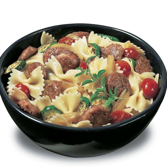 Johnsonville Sausage Bowtie Pasta Recipe How To Make It Taste Of Home