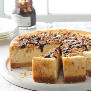 Fantastic Toffee Cheesecake