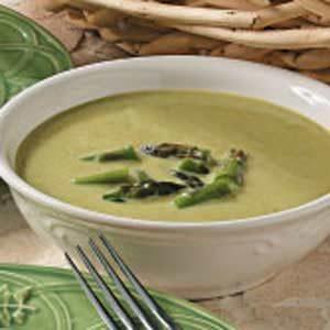 Quick Creamy Asparagus Soup
