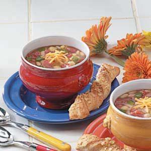 Quick Vegetable Bean Soup