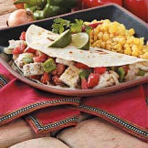 Seafood Soft Tacos