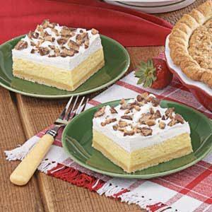 Toffee Ice Cream Dessert Recipe Taste Of Home