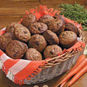 Macadamia Carrot Muffins