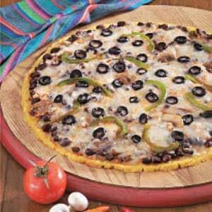 Santa Fe Cornmeal Pizza