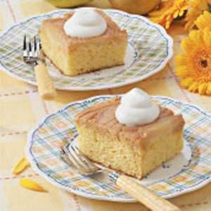 Caramel Pear Cake