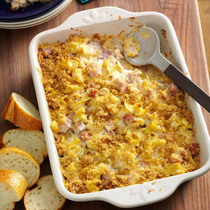 Hawaii: Pineapple Ham Casserole