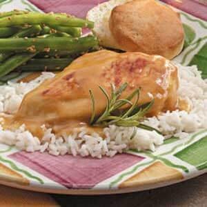 Healthy Honey Mustard Chicken