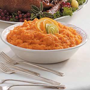 Orange Whipped Sweet Potatoes