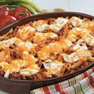 Cheesy Sausage Penne