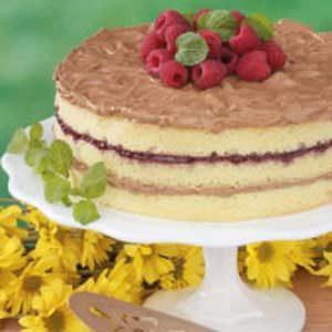 Raspberry Mocha Torte