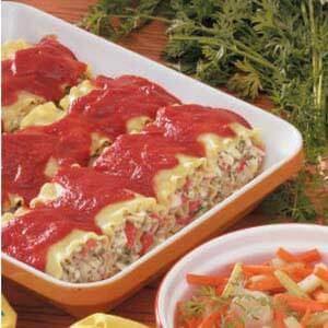 Lasagna Crab Roll Ups