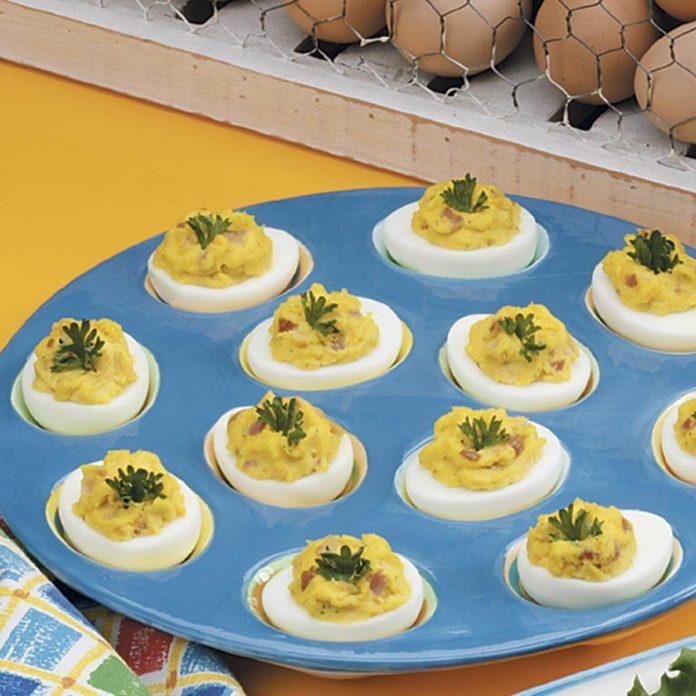 Zippy Deviled Eggs